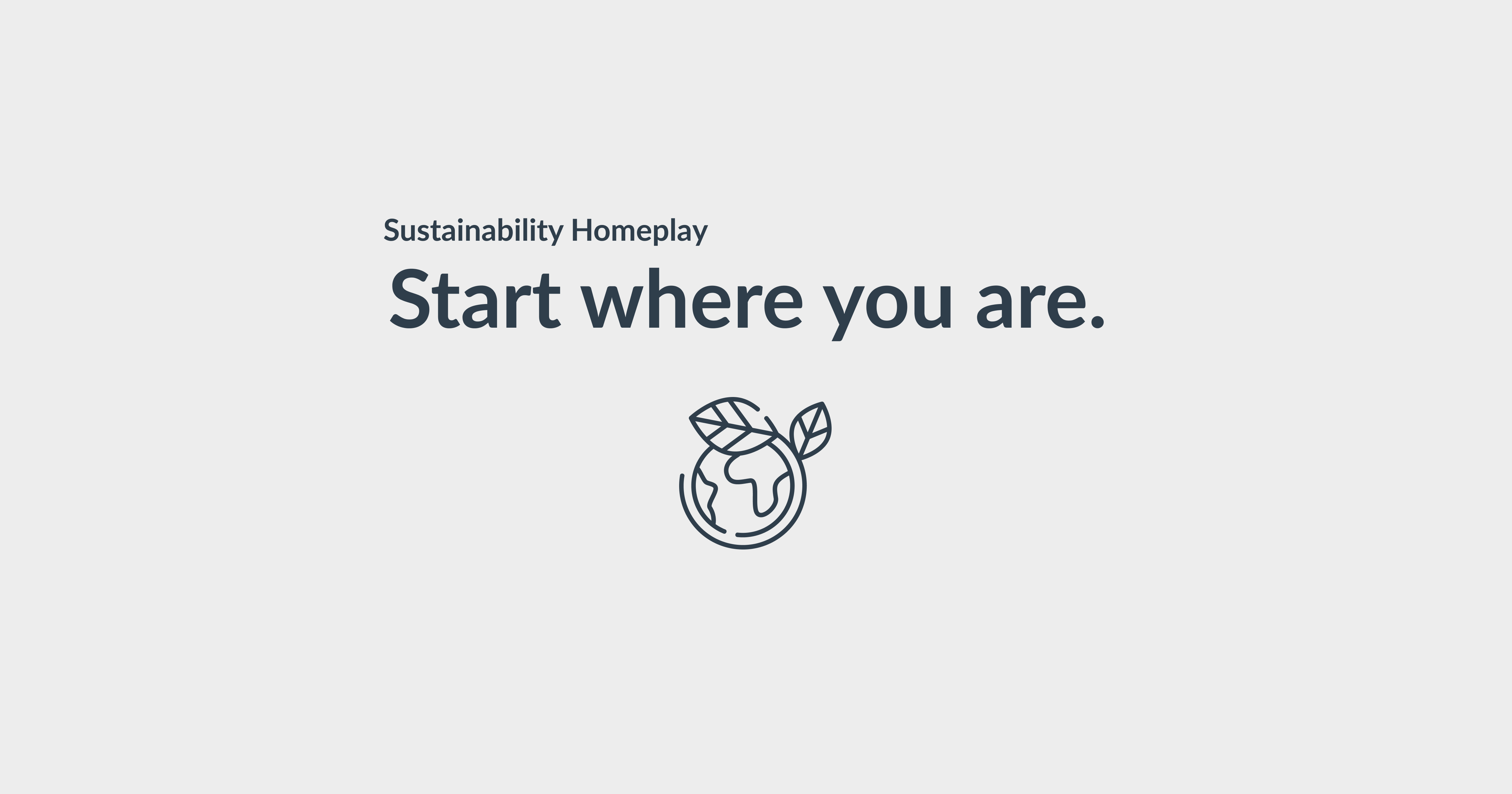 5 steps to start with sustainability in your professional life