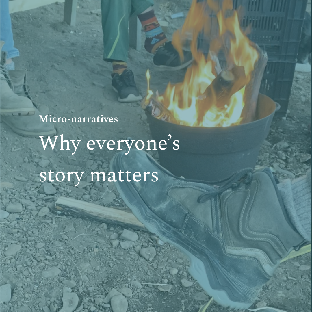 Why everyone's story matters