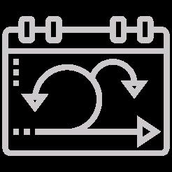 Calendar sheet with a sprint feedback loop