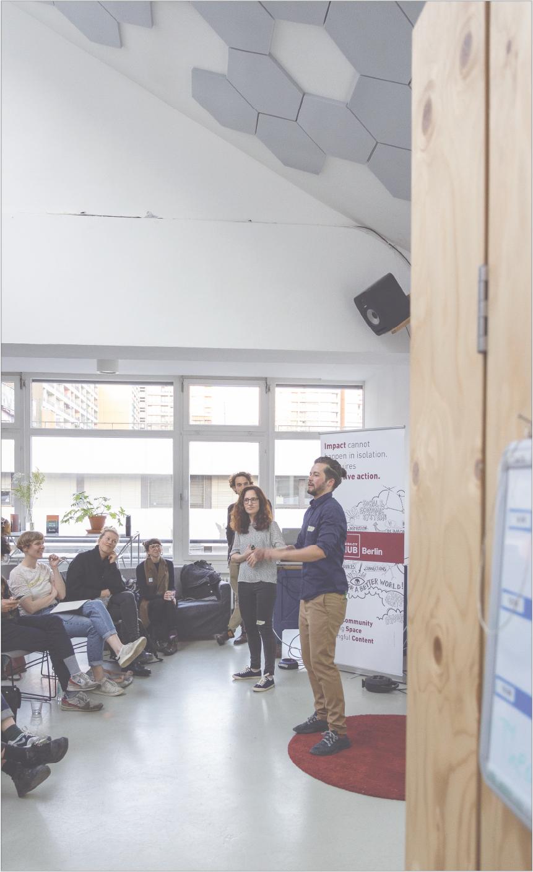 Leon facilitating circular economy workshop